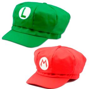 2 Gorras Mario Y Luigi Envio Gratis Super Bros Calidad Smb 486baed976a