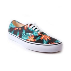 Zapatos Vans Authentic Vintage Aloha Black True White 12427f5b1a9