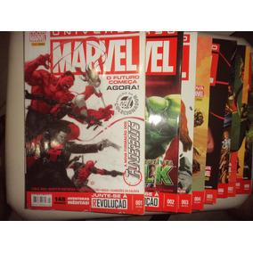 Universo Marvel 1 A 35 Panini Terceira Serie Frete Gratis