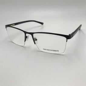 Armacao Oculos Grau Masculino Quadrado Metal 7053 0e2e937888