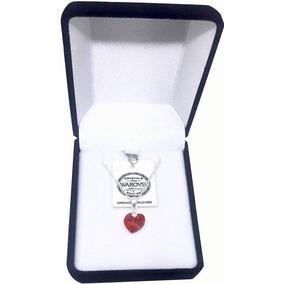 Oferta San Valentin!! Colgante Corazón Swarovski 10 Mm