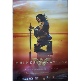 Pôster Cartaz Mulher-maravilha (filme) 93x63 Cm