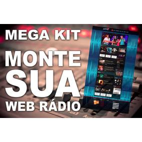 Kit Monte Sua Rádio Ou Web Rádio - Vinhetas Site E Softwares