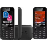 Celular Nokia 208 Asha-02 Chip 3g Usado Leia