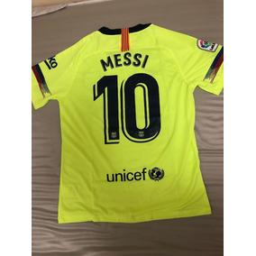 Jersey Barcelona Verde Messi en Mercado Libre México cd547de83c2