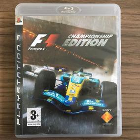 Jogo F1 Championship Edition - Ps3 M. Fís Seminovo