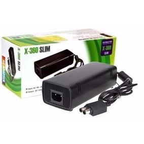 Fonte Xbox 360 Slim Bivolt 110v 220v Mais Cabo De Força