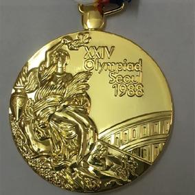 Medalha Jogos Olímpicos Verão Seul 1988 Modelo Ouro