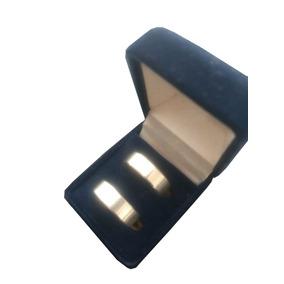 12612ba3f25 Par De Alianças Namoro noivado Em Prata 0.7mm Frete Grátis