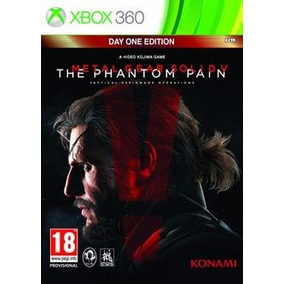 Jogo Metal Gear Solid V The Phantom Pain Xbox 360 Míd Física