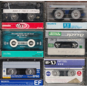 Cassettes Vírgenes Usados De Colección $30 C/u