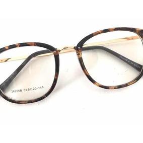 a177bbfec716b Oculos De Grau Feminino - Óculos Marrom escuro no Mercado Livre Brasil