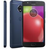 Motorola Moto E4 Azul Xt1763 Dual 16gb Original Lacrado