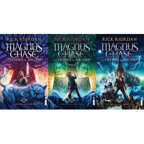 Coleção Magnus Chase E Os Deuses De Asgard Volumes 1 2 E 3