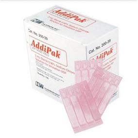 Solución Salina Estéril Addipak, .9%, 3 Ml, 100 / Bx (f)