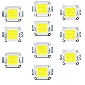 Kit50 Chip Led 50w Para Reposição De Refletor 50w 100w 150w