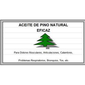 Aceite (medicinal) De Pino Eficaz
