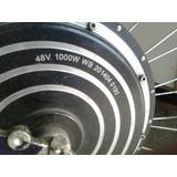 Motor Elétrico Para Bike 1000 Wats 48v