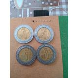 Monedas De 1 Nuevo Peso 1992, 1993, 1994 Y 1995