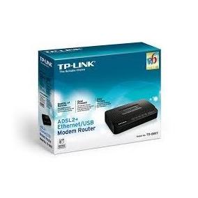 Moden Router Adsl2+ Ethernet/usb Td-8817 - Tp-link