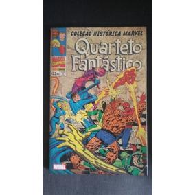 Coleção Histórica Marvel -quarteto Fantástico Volume 3