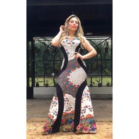 Vestido Feminino Evangélico Longo Plus Size Modelador Camila