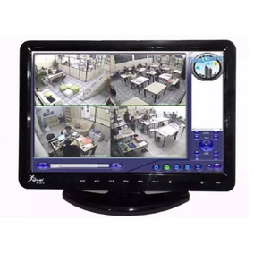 Tv Monitor 15,4 Pol Lcd Hd 1080p C/ Dvd Player Hdmi Vga Usb