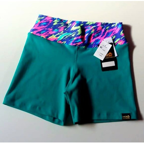 Shorts Feminino H2o Cós Estampado Moda Fitness Esporte Novo