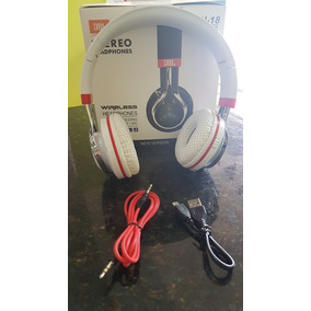 Fone Bluetooth Jbl Stéreo Stn-18 Enjoy Music