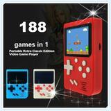 Mini Consola Portatil Con 188 Juegos Retro