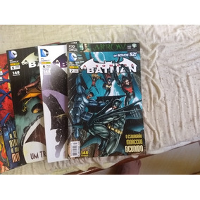 Revista Mensal A Sombra Do Batman Novos 52 Do 1 Ao 7