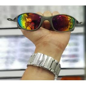 29997a304834a Oculos Redondo Lente Laranja Oakley - Óculos no Mercado Livre Brasil
