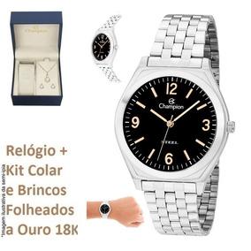 3084e54f8ee Relógio Champion Feminino Original Ca20198t C  Kit Brinde W