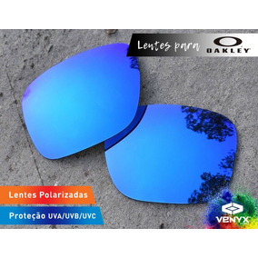 Óculos Oakley Squared Lente Polarizada Cor Azul Bebê De Sol - Óculos ... f259b93318