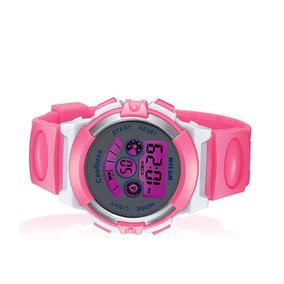8f60dfc458b Relógio De Criança Feminino Masculino Esportivo + Brinde