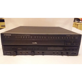 Vídeo Laser Pioneer Modelo Cld-k800 (funcionando)