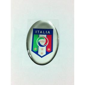 e02b0448be Adesivo Resinado Do Escudo Da Seleção Da Itália De Futebol · R  19 58