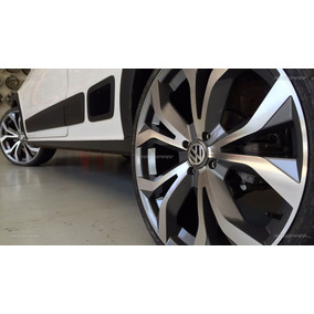 Jg Roda Audi A6 Rs6 Aro17 4/5 Furo Gol Onix Corolla+parafuso