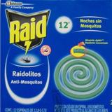 Insecticida Raidolitos Anti Mosquitos 12 Piezas Bayer Jonson