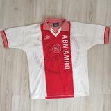 Camisa Ajax 1995 - Umbro - Abn Amro Bank