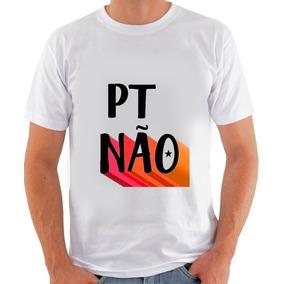 fa93e84bed Camiseta Camisa Pt Não Partido Corrupto Unissex · 2 cores