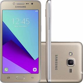 Celular Samsung Galaxy G532 J2 Prime Dourado 16gb Dual Chip
