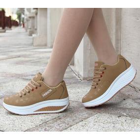 Zapato Casual Deportivo De Mujer, Sneaker Talle 35-40