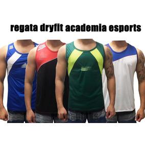 Kit 10 Camisa Masculina Regata Poliéster Dry Fit Academia ac1318ba696