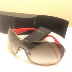 fc6dbe63894e9 Oculos De Sol Prada Vermelho - Óculos no Mercado Livre Brasil