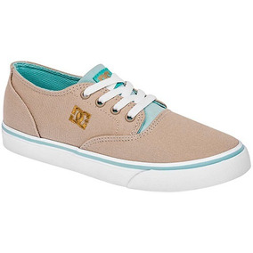 Bonitos Y Cómodos Tenis Casuales Dc Shoes En Color Beige