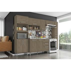 Cozinha Compacta Sharmila 5 Peças Sem Tampo Poquema