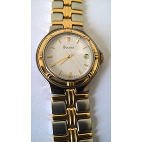 23413110c5e Relógio Bulova Unissex Masculino Feminino Quartz Original