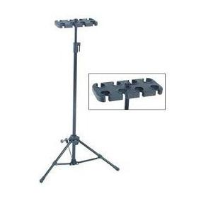 Pedestal Suporte Para 8 Microfones Vector Am 08 Am08 Am-08-p