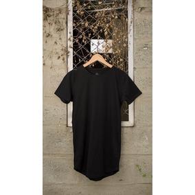 Camiseta Basica Negra Hombre - Mujer